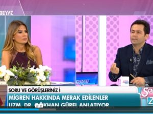Uzman Doktor Gökhan Gürel Beyaz Tv'de Migreni Anlattı