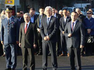 Akhisar'da 10 Kasım Atatürk'ün aramızdan ayrılışının 78.yılı anma programı