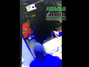Beyoba'da soygun girişimi görüntüleri