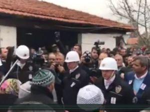 Akhisarlı şehit polis Ali Aksoy babevine getirildi