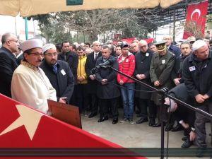 Akhisarlı şehit polis Ali Aksoy son yolculuğuna uğurlandı