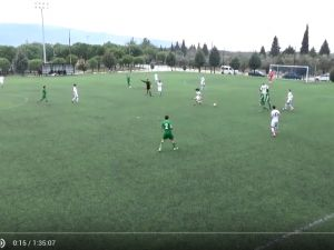 14 01 2016 U19 Ligi Akhisar Belediyespor & Manisaspor (1-0)