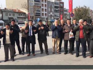 Akhisar İlçe Müftülüğünden Halep'e Zeytin ve Zeytinyağı desteği
