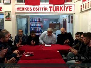 MHP Akhisar İlçe teşkilatı, Büyükşehir koorbinatörünü disiplin kuruluna sevk etti