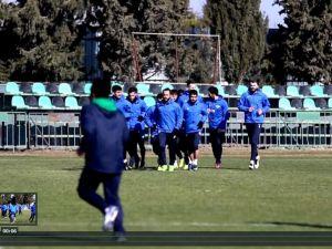 Akhisar Belediyespor Ziraat Türkiye Kupası Hazırlıklar 31 Ocak 2017 idmanı