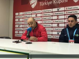 Akhisar Belediyespor Teknik Direktörü Tolunay Kafkas, Gümüşhanespor maçı ardından açıklamaları