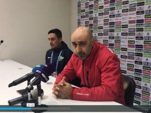 Akhisar Belediyespor Teknik Direktörü Tolunay Kafkas, Antalyaspor maçı ardından açıklamaları