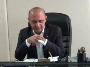 Akhisar TSO yönetim kurulu başkanı Abdurrahman Yılmaz, Basın açıklaması