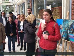 Akhisar Sanat Dostları Derneği ASDER Kadınlar günü özel sergisi