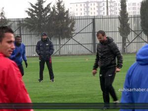 Akhisar Belediyespor'da Trabzonspor hazırlıkları başladı 8 Mart 2017 idman