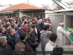 Akhisar Belediyespor şoförünü son yolculuğuna uğurladı