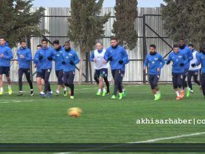 Akhisar Belediyespor'da Adanaspor maçı hazırlıkları, Tolunay Kafkas Röportaj