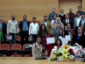 Akhisarlı 45 girişimci adayı sertifikasını aldı