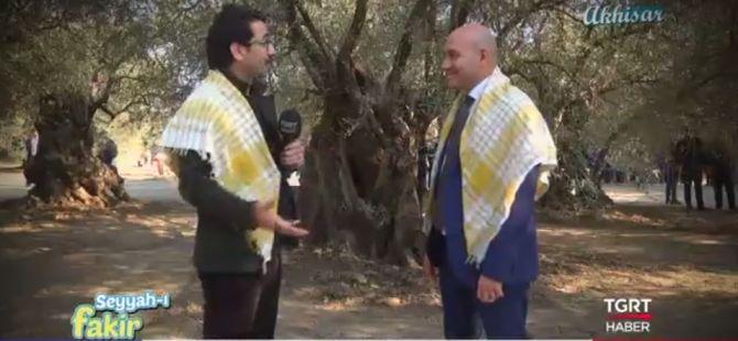 TGRT Haber - Raşit Ağzıkara sunduğu Seyyah-ı Fakir Programı Sakarkaya Köyü ve Akhisar Zeytin tanıtım programı