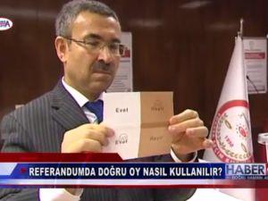 16 Nisan Anayasa Değişikliği Referandumda nasıl oy kullanacağız?