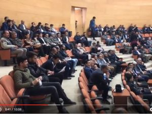 Akhisar'da Genç Çiftçi Projesi tanıtım programı Akhisar Belediyesi Meclis Toplantı salonunda yapıldı