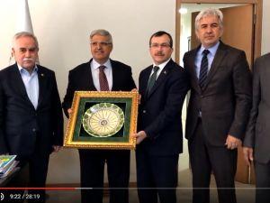 AK Parti Genel Başkan Yardımcısı, Mali ve İdari İşler Başkanı Vedat Demiröz, Akhisar ziyareti