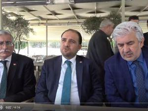 AK Parti MKYK Üyesi ve Manisa Milletvekili Murat Baybatur, Akhisarlı basın menuspları ile buluştu