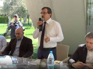 AK Partili Uğur Aydemir, Akhisarlı esnaf odaları ile buluştu