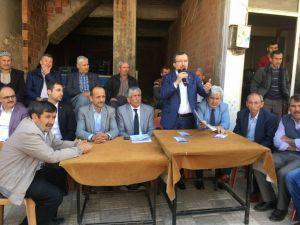 AK Partili Uğur Aydemir, Dağdere Mahallesinde referandumu anlattı