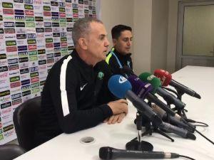 Akhisar Belediyespor Teknik Direktör Yardımcısı İrfan Saraloğlu, Bursaspor galibiyetini değerlendirdi