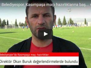 Akhisar Belediyespor, Kasımpaşa maçı hazırlıklarına başladı, Okan Buruk değerlendirmeler