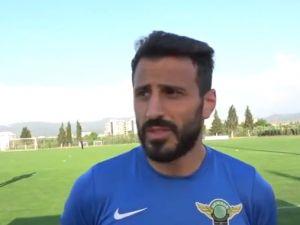 Akhisar Belediyespor'da kaptan Caner, Gazinatep maçından umutlu