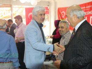 Akhisar Somuncu Baba hayır çarşısı kermesi açıldı