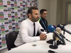 Akhisar Belediyespor Teknik Direktörü Okan Buruk farklı Gaziantepspor galibiyeti ardından değerlendirmelerde bulundu