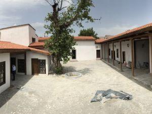 Restorasyonun ardından Akhisar Dombaycıhanı kapıları açılıyor, Ticaret Borsası Başkanı Alper Alhat