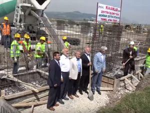 Akhisar Zeytin İhtisas OSB'de ilk fabrikanın temeli atıldı