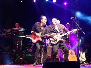 558. Çağlak Festivali konserinde MFÖ grubu sahne aldı