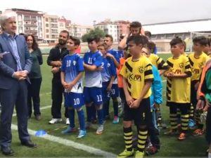 558 Çağlak Festivali Umut Fırat Futbol Turnubaso kupa töreni