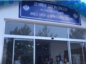 Zeynep Gülin Öngör Mesleki ve Teknik Anadolu Lisesi Akıllı Spor ve Konferans Salonu açılış töreni