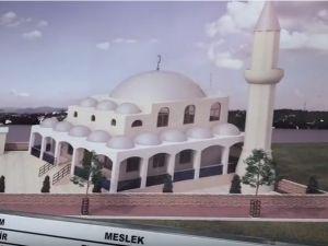 Akhisar Akabe camii temel atma töreni