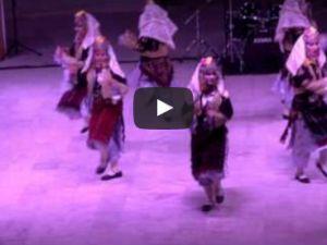 558 Çağlak Festivali Akhisar Belediyesi Halk Oyunları Gösterisi Dev Öğrenci Amfi Tiyatro