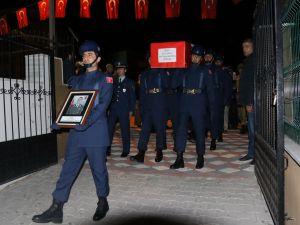 Şehit Fevzi Kıral memleketi Akhisar'a getirildi