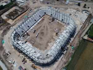 Akhisar Spor Toto Stadyumu 13 Haziran 2017 tarihli çekimleri