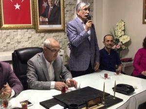 AK Parti Akhisar İlçe Teşkilatında bayramlaşma