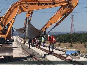 Akhisar çevre demiryolu çalışmasında sona gelindi