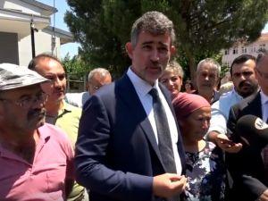 Madenci aileleri, mahkeme başkanının tayini çıkmasına tepki gösterdi
