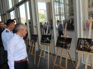 Akhisar'da 15 Temmuz fotoğraf sergisi açıldı