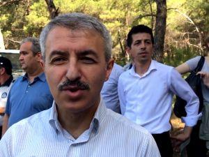 Akhisar'da 15 Temmuz Şehitleri Hatıra Ormanının bakımı yapıldı