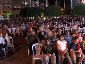 15 Temmuz Şehitlerini Anma Demokrasi ve Milli Birlik Günü Akhisar Milli Egemenlik Meydanında 2  gün