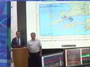 Kandilli Rasathanesi, Bodrum'da gerçekleşen Depremin büyüklüğü 6.6!