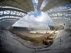 Spor Toto Akhisar Stadyumundaki 28 Temmuz çalışmalarını sizler için görüntüledik