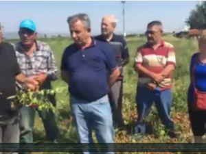 CHP Beyoba'da Çiftçinin Sorunlarını İnceledi