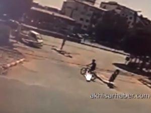 14 yaşında hayatını kaybeden Emirhan'ın tren kazasında görüntüleri yayınlandı