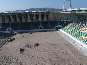 Spor Toto Akhisar Belediye Stadyumu 17 Ağustos 2017 tarihli son görünümü