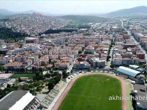 Akhisar Belediyesi ve Akhisar Milli Egemenlik Meydanı Drone görüntüleri